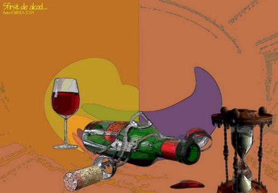Sfirsit de alcool...