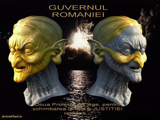GUVERNUL ROMANIEI - Justitia romana...