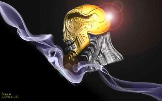 Placa de aur...