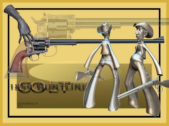 Colt 1859 Buntline...