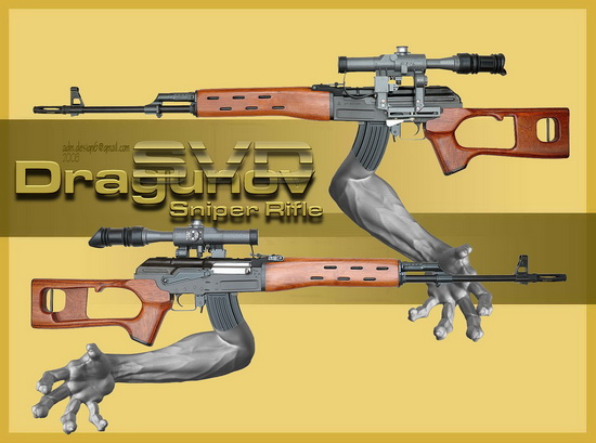 Dragunov Sniper Rifle...