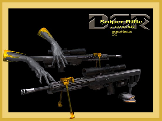 DSR Sniper Rifle 7,62x54R...