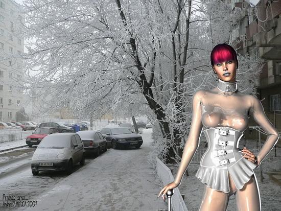 Privirea Iarna...