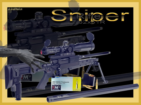 Sniper Rifle 7,62x51R...
