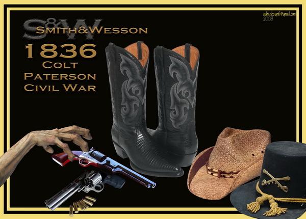 1836 - S&W Colt Paterson Civil War...