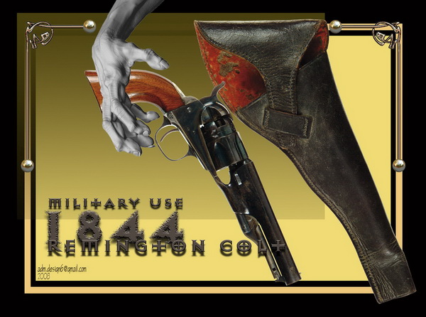 1844 - Remington COLT - Military use...