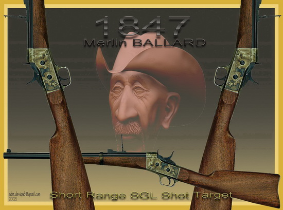 1847 - Merlin BALLARD - Short Range SGL Shot Target...