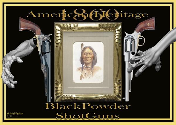1860 - American Heritage - BlackPowder ShotGuns...