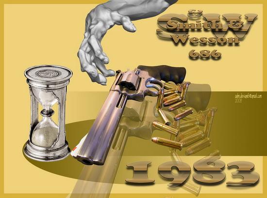 1983 - S&W Smith&Wesson 686...