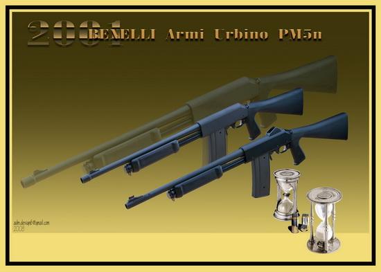 2001 - BENELLI Armi Urbino PM5n...