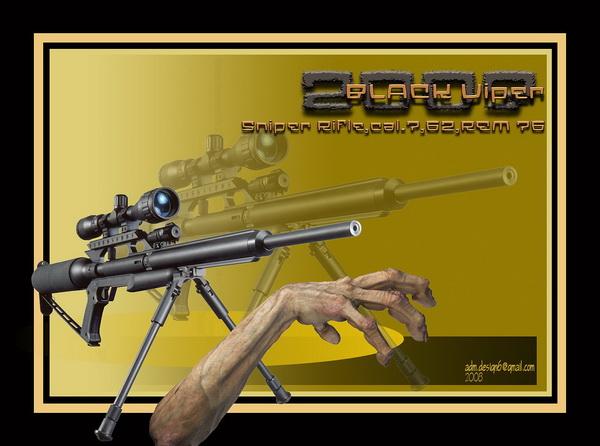 2003 - BLACK VIPER - Sniper Rifle, cal.7,62, REM 76...