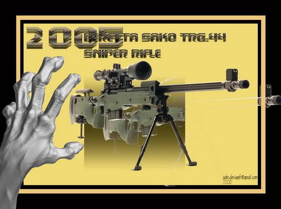 2005 - Beretta SAKO TRG.44 Sniper Rifle...