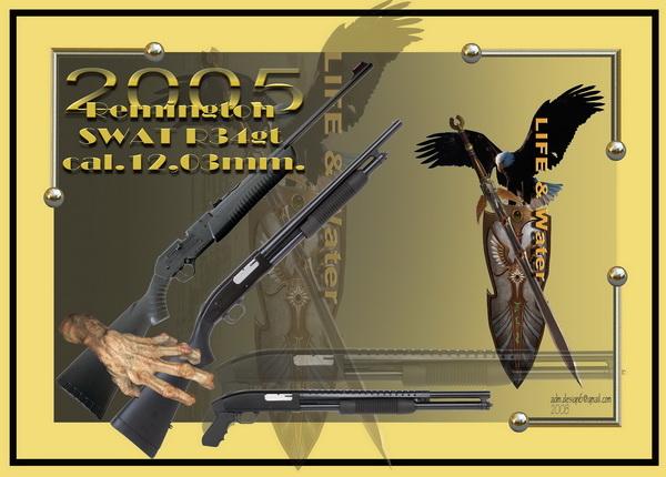 2005 - Remington SWAT R34gt. cal.12,03...