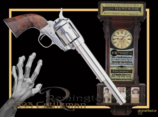 Remington 1893 Cattleman...