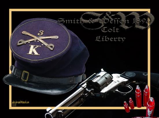 S&W 1896 - Colt Liberty...