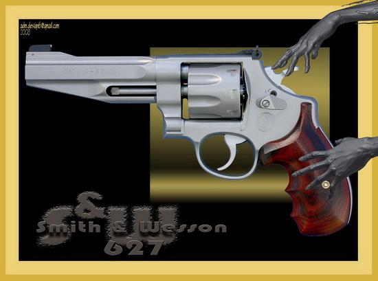 S&W 627...