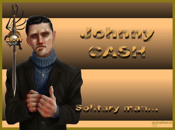Johnny CASH - Solitary Man...