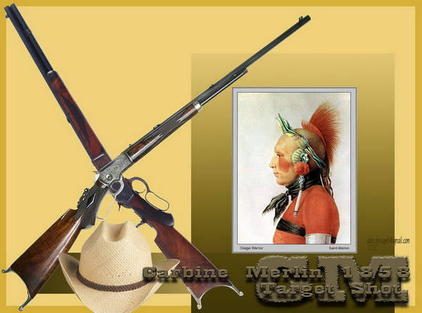 Carbine Merlin 1858 - Target Shot...