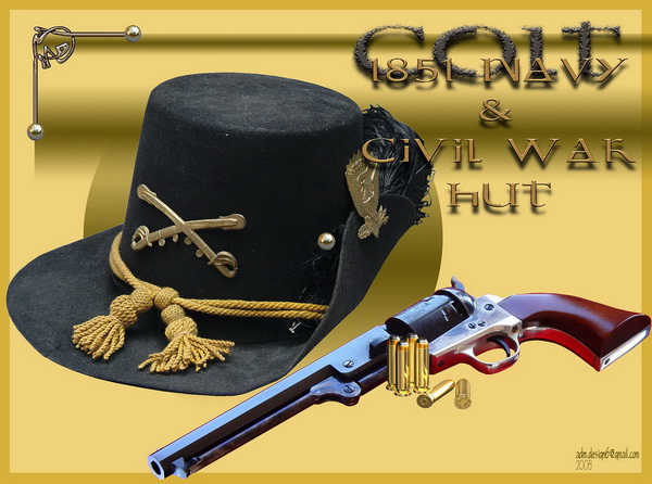 Colt 1851 Navy & Civil War Hut...